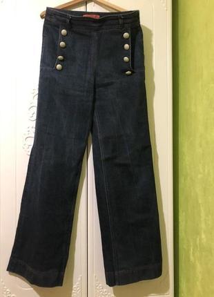 Tommy hilfiger джинсы трубы с высокой талией тренд  2020