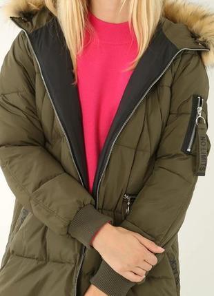 Зимняя куртка pimkie с капюшоном