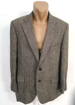 Пиджак стильный mcgregor, шерсть