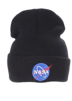 Крута шапка модная вязаная шапка nasa 13243
