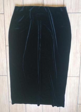 Модненькая бархатная юбочка юбка