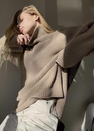 Дизайнерский свитер хит блогеров базовый от nuga studio