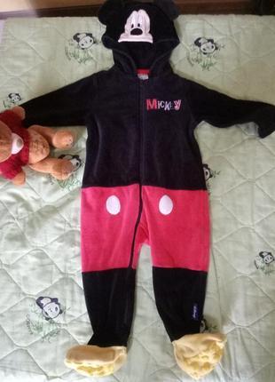 Пижама кигуруми микки маус