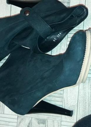 Роскошные шикарные бртильоны ботинки натуральный нуьук оригинал