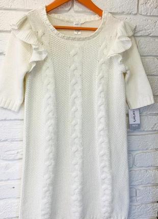 Теплое платье туника carters на девочку 10-12 лет