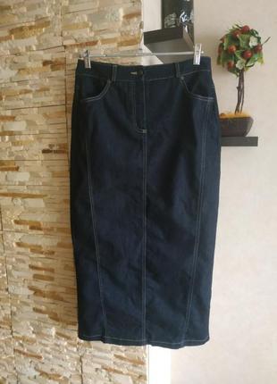 Джинсовая юбка юбочка