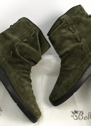 Hotter ботинки зимние сапоги натуральная замша оригинал
