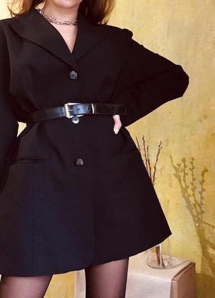 Блейзер винтаж пиджак платье жакет