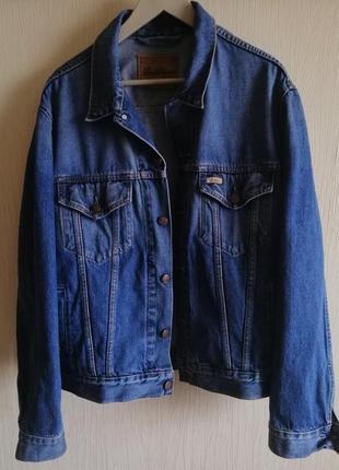 Винтажный джинсовый пиджак levi strauss
