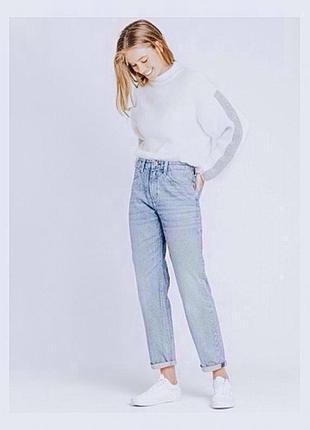 Стильные джинсы винтажные мамс moms jeans фирмы lee
