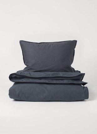Односпальное постельное белье 135х200 80х80 h&m оригинал европа швеция