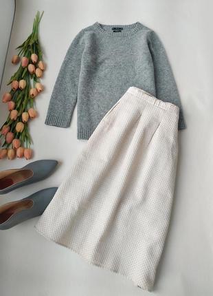 Шикарная юбка миди в складку от h&m от размер м-l