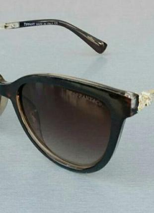 Tiffany & co очки женские солнцезащитные коричневые