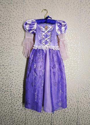 Карнавальный наряд. платье рапунцель