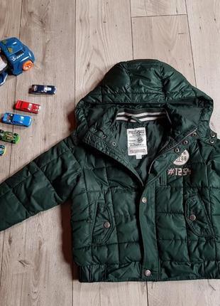 Куртка осінь-зима 116см