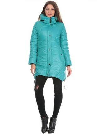 Зимнее пальто new mark 42 р.