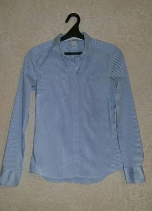 Стильна сорочка в полоску
