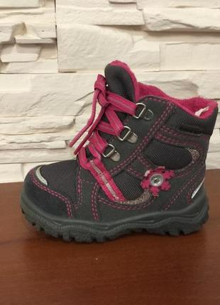 Ботинки ботиночки зимние сапожки черевики superfit gore-tex р.21