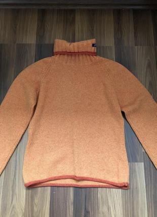 Тёплый шерстяной свитер gap размер s