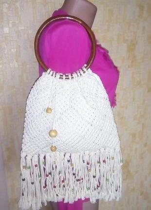 Красивая стильная сумочка бохо шик/сумка шопер/сумочка/мешок/клатч/сумка