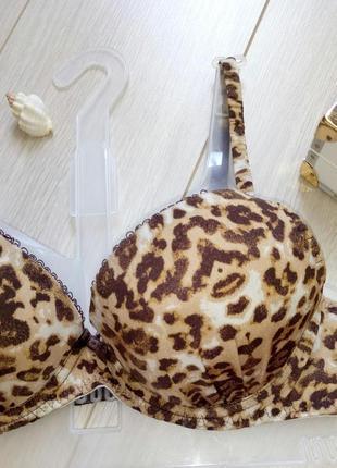 Леопардовый лиф, лифчик, бра, бюстгалтер, бюстгальтер