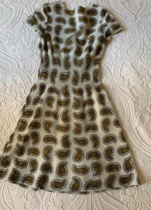 Тёплое шерстяное платье, kenzo, оригинал