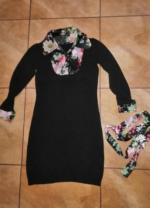 Брендовое тёплое красивое платье