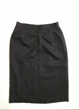 Фирменная шерстяная юбка