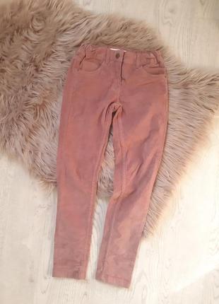 Вельветовые велюровые джинсы штаны