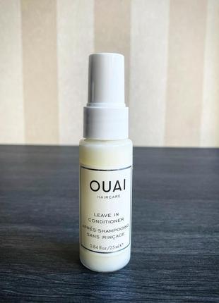 Термозащитный несмываемый кондиционер для волос ouai - leave-in conditioner
