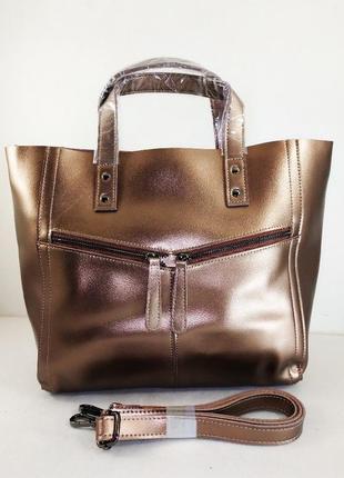 Кожаная шикарная сумка