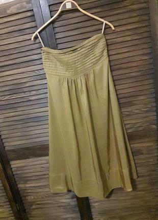 Шелковое платье #banana republic #оригинал