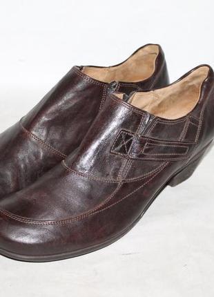 Комфортные кожаные туфли gabor 43 размер