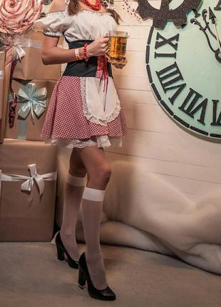 Карнавальный костюм баварской официантки