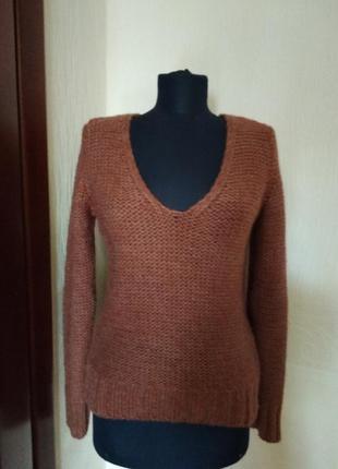 Світер кофта пуловер альпака+шерсть італ