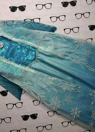Шикарное платье эльзы