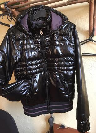 Куртка пуховичок короткая теплая бренд италия