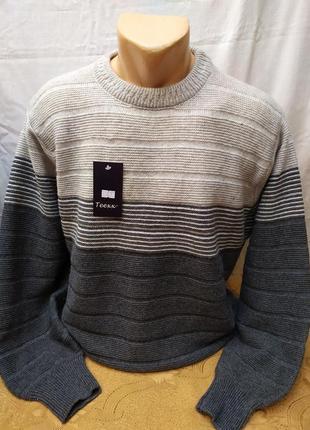 Зимний свитер . батал.расцветки. турция