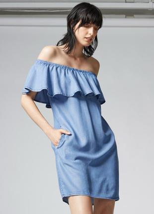 Джинсовое платье  52-54 размер