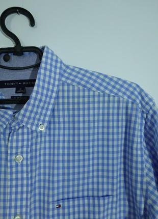 Рубашка в клетку tommy hilfiger