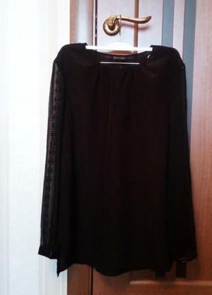 Брендовая шёлковая блуза