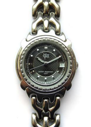 Vgii by fada inc. часы из сша с датой wr100ft механизм japan miyota