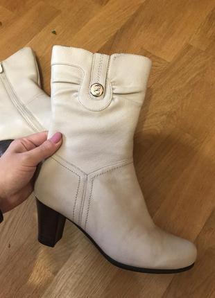 Зимові чобітки шкіряні