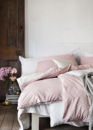 Односпальное постельное белье 140х200 50х70 h&m оригинал европа швеция