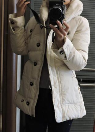 Теплая зимняя женская куртка 34р-р