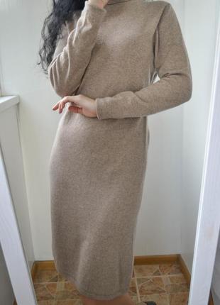 Теплое платье шерсть+кашемир