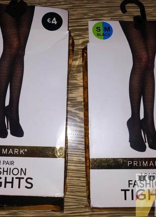 Колготки фантазийные ромбы fashon tights