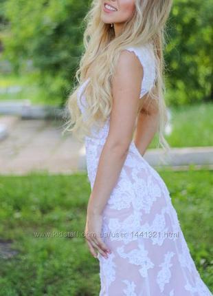 Красивенное выпускное платье