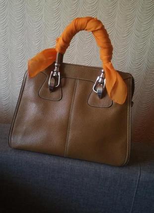 Большая сумка экокожа hermes