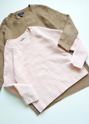 Красивый зефирный велюровый свитер от george